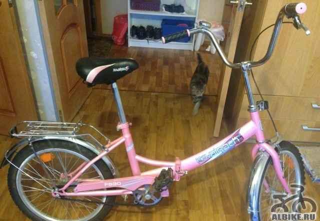 Велосипед складной подростковый Novatrack FS30
