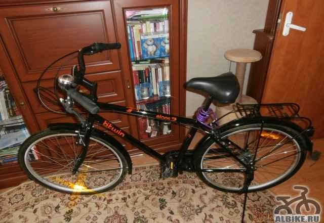 Велосипед b твин elops 2 Новый. Полный комплект)