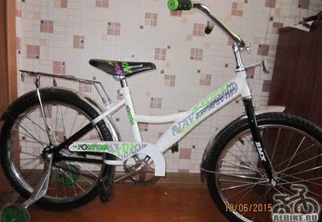 Продам новый велосипед белого цвета Навигатор