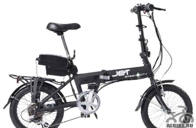 Велогибрид Электро Green Сити Jet