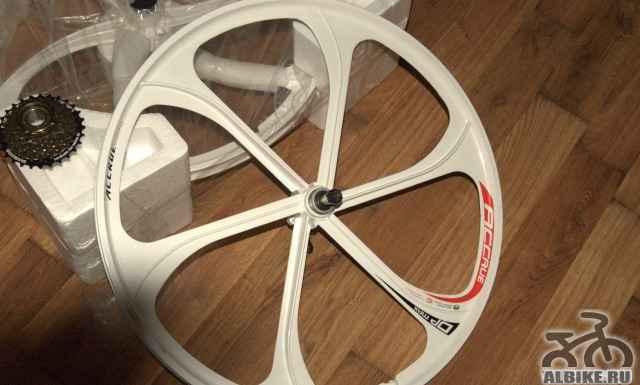 Диск литой accrue белый (2 колеса)