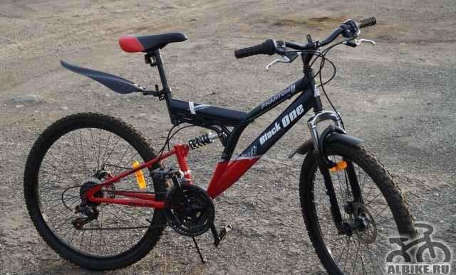 Велосипед горный Блак one фантом