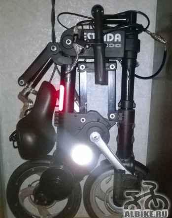 Электровелосипед estrida 250 на гарантии