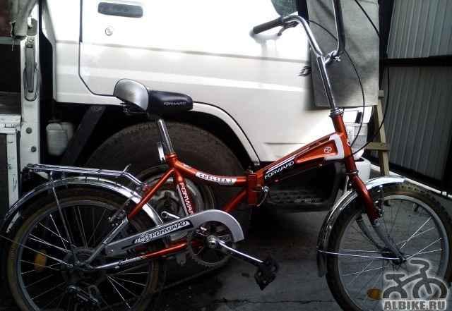 Подростковый 6 скоростной велосипед, складной