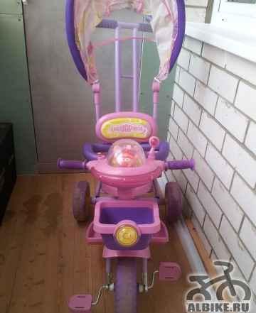 Детский трехколесный велосипед Смешарики