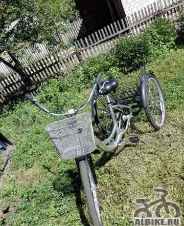 Дорожный трехколесный велосипед Стелс Energy 3