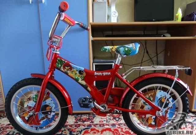 Детский велосипед Энгри Бердс