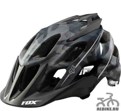 Новый велосипедный шлем FOX