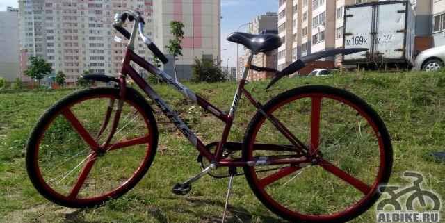 Велосипед тюнингованный