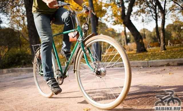 Ретро городской красивый велосипед на заказ