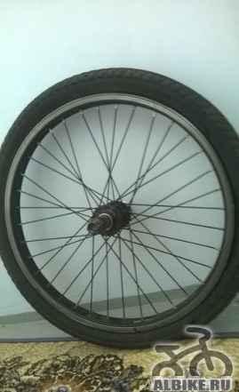 Заднее колесо на BMX