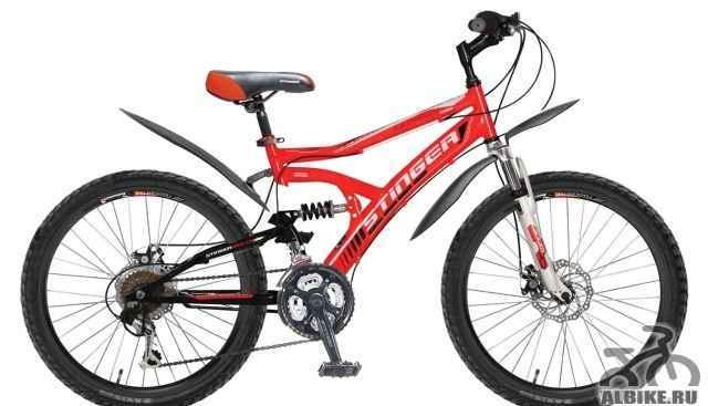 """Подростковый велосипед Стингер Матрикс SX230D 24"""""""