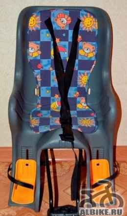 Велокресло на подседельную раму или на багажник