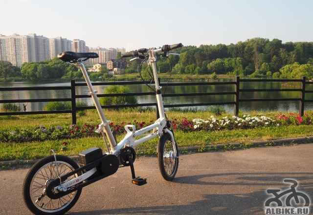Mobiky youri 16 идеальный велосипед для города