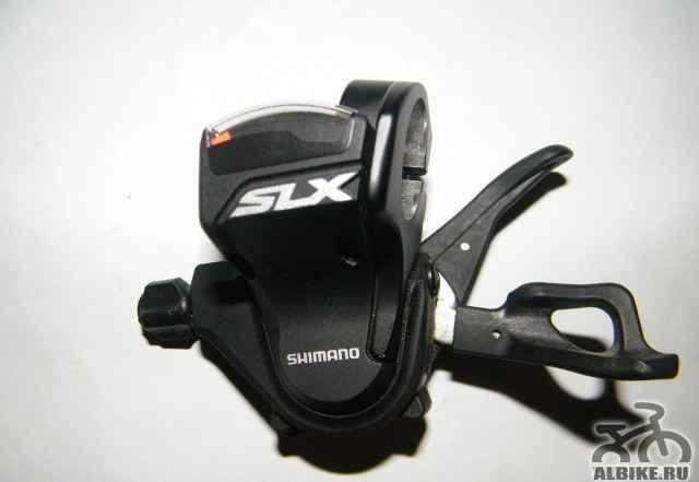 Манетка + передний переключатель Shimano SLX 3x10