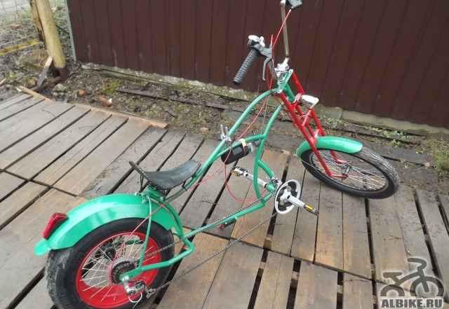 Велосипед кастом чоппер