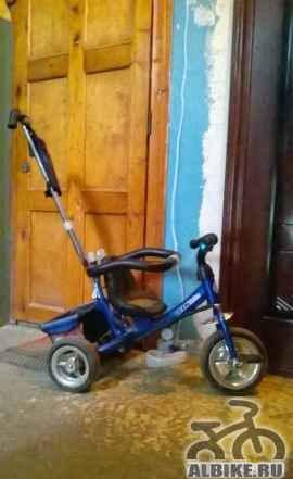 Трехколесный детский велосипед Lexx Trike c ручкой