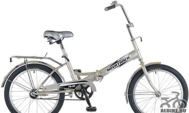 """Складной велосипед novatrack 20"""" FS 30"""
