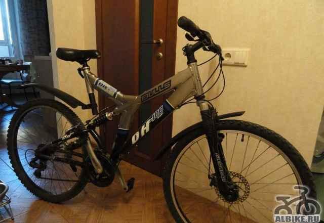 Велосипед двухподвесной bulls DH-100