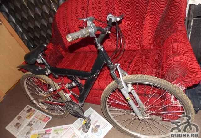 Обычный, хороший велосипед
