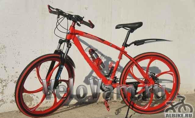 Велосипед на литых дисках Ферари В наличии спб