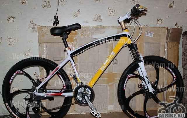 Велосипед на литых дисках БМВ X5 24 Скорости в спб