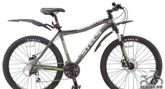 Новый велосипед Стелс Навигатор 690 MD. Размер 19