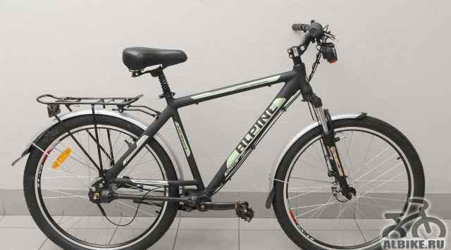 Велосипед с карданом и планетарной втулкой