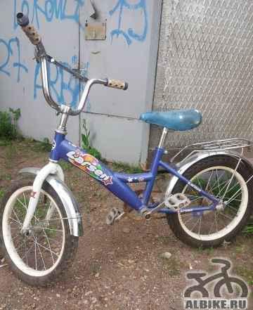 Велосипед детский Larsen диаметр колеса 16