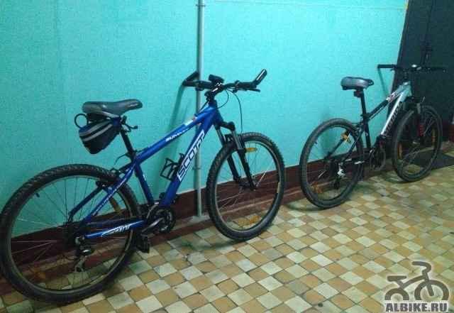 Велосипед scott и merida