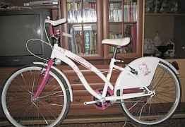 Велосипед, Hello Kitty, колёса 24 дюйма