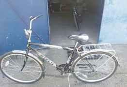 Новый велосипед стелс