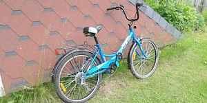 Велосипед Стелс Пилот 755 со складной рамой