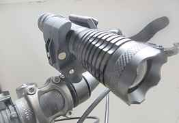 Велофара 2000 люмен с креплением на руль