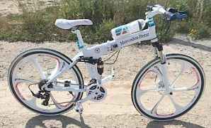 Стильный велосипед БМВ Дорого