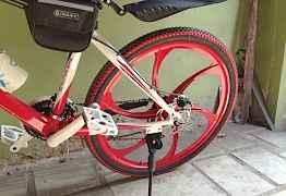 Велосипед БМВ х5 для спорта, жизни и удовольствия