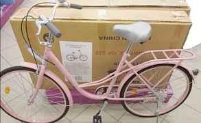 Взрослый дамский велосипед