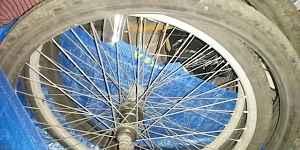 Колеса от старого велосипеда СССР