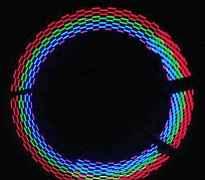 Светодиодные насадки на нипель велосипеда