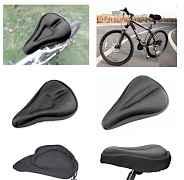 Гелевая накладка- чехол на седло велосипеда (новая
