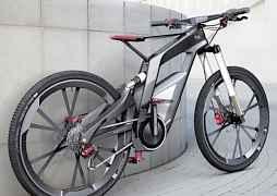 Велосипед на литых дисках Ауди БМВ Мерседес