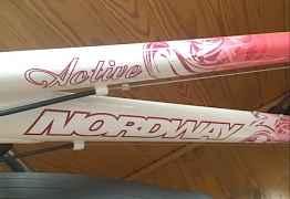 Женский велосипед nordway активе
