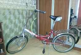 Складной велосипед стелс 410