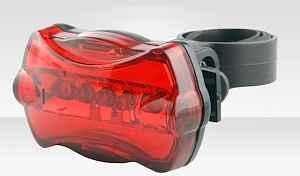 Фара задняя для велосипеда 5 LED светодиодов