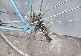 Спортивный велосипед турист хвз
