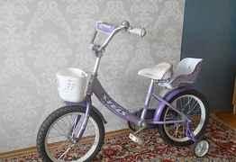Велосипед для девочки от 3 до 7 лет