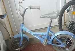 Велосипед для девочки детский б/у