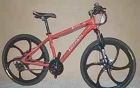 Велосипед ферари GH5 дискилитые