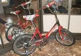 Продам новый велосипед для возраста 6-8 лет