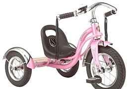 Стильный трёхколёсный велосипед